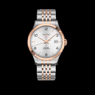 Longines Herrenuhr Record Automatik Chronometer 40mm L2.821.5.76.7