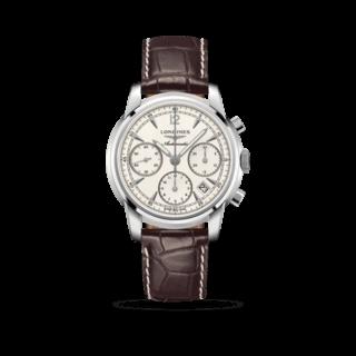 Longines Herrenuhr Saint-Imier Automatik Chronograph 41mm L2.752.4.72.0