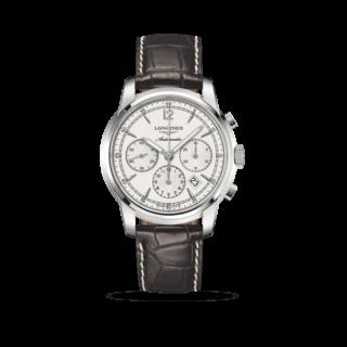 Longines Herrenuhr Saint-Imier Automatik Chronograph 43mm L2.784.4.72.0