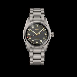 Longines Herrenuhr Spirit Automatik Chronometer 40mm L3.810.1.53.6