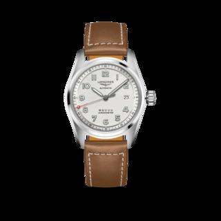 Longines Herrenuhr Spirit Automatik Chronometer 40mm L3.810.4.73.2