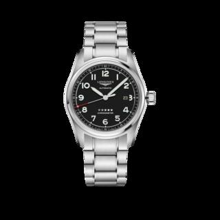 Longines Herrenuhr Spirit Automatik Chronometer 42mm L3.811.4.53.6