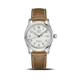 Longines Herrenuhr Spirit Automatik Chronometer 42mm L3.811.4.73.2