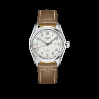 Longines Herrenuhr Spirit Automatik Chronometer 42mm L3.811.4.73.2