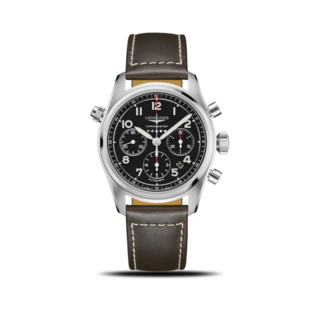 Longines Herrenuhr Spirit Automatik Chronometer 42mm L3.820.4.53.0