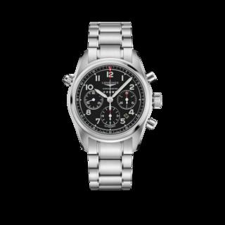 Longines Herrenuhr Spirit Automatik Chronometer 42mm L3.820.4.53.6
