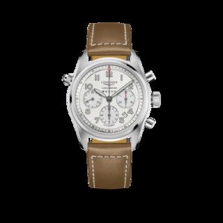Longines Herrenuhr Spirit Automatik Chronometer 42mm L3.820.4.73.2