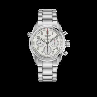 Longines Herrenuhr Spirit Automatik Chronometer 42mm L3.820.4.73.6