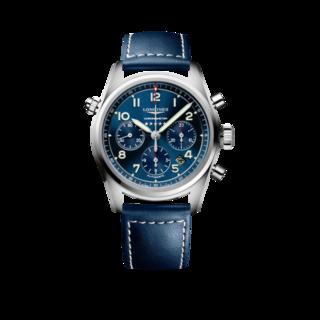 Longines Herrenuhr Spirit Automatik Chronometer 42mm L3.820.4.93.0