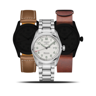 Longines Herrenuhr Spirit Automatik Chronometer Prestige Edition 42mm L3.811.4.73.9