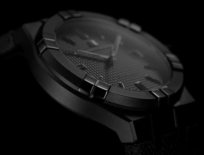Herrenuhr Maurice Lacroix Aikon Automatic mit schwarzem Zifferblatt und Kalbsleder-Armband bei Brogle