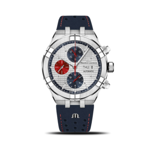 Maurice Lacroix Herrenuhr Aikon Automatic Chrono Special Edition Mahindra Racing AI6038-SS001-133-4