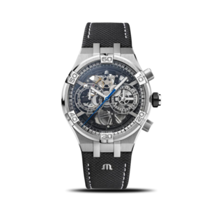 Maurice Lacroix Herrenuhr Aikon Automatic Chronograph Skeleton 44mm AI6098-SS001-090-1