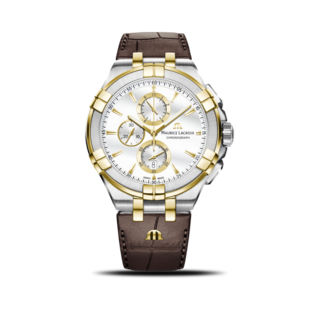 Maurice Lacroix Herrenuhr Aikon Quartz Chronograph AI1018-PVY11-132-1