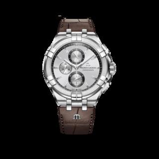 Maurice Lacroix Herrenuhr Aikon Quartz Chronograph AI1018-SS001-130-1