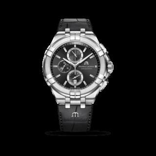 Maurice Lacroix Herrenuhr Aikon Quartz Chronograph AI1018-SS001-330-1