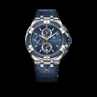 Maurice Lacroix Herrenuhr Aikon Quartz Chronograph AI1018-SS001-432-4