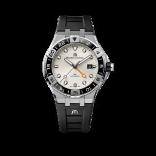 Maurice Lacroix Herrenuhr Aikon Venturer GMT 43mm AI6158-SS001-130-2