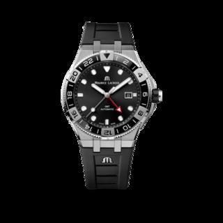 Maurice Lacroix Herrenuhr Aikon Venturer GMT 43mm AI6158-SS001-330-2
