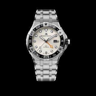 Maurice Lacroix Herrenuhr Aikon Venturer GMT 43mm AI6158-SS002-130-1