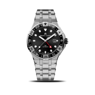 Maurice Lacroix Herrenuhr Aikon Venturer GMT 43mm AI6158-SS002-330-1