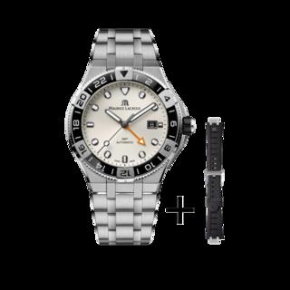 Maurice Lacroix Herrenuhr Aikon Venturer GMT 43mm AI6158-SS00F-130-A