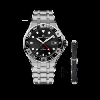Maurice Lacroix Herrenuhr Aikon Venturer GMT 43mm AI6158-SS00F-330-A