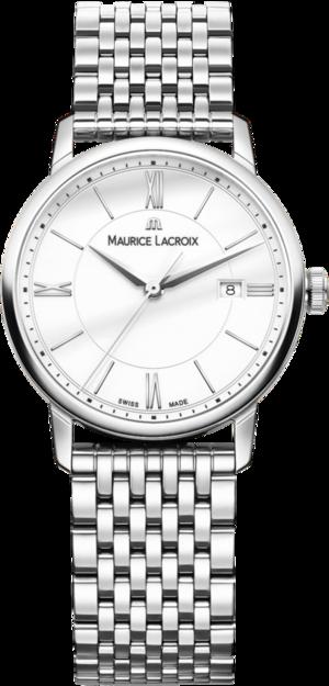 Damenuhr Maurice Lacroix Eliros Date Ladies mit weißem Zifferblatt und Edelstahlarmband