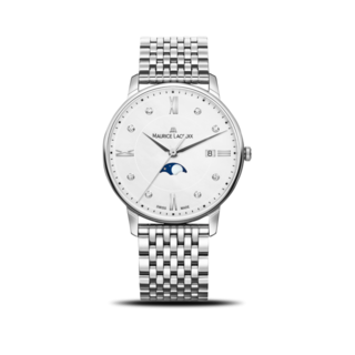 Maurice Lacroix Damenuhr Eliros Moonphase Ladies EL1096-SS002-150-1