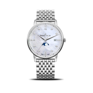 Maurice Lacroix Damenuhr Eliros Moonphase Ladies EL1096-SS002-170-1
