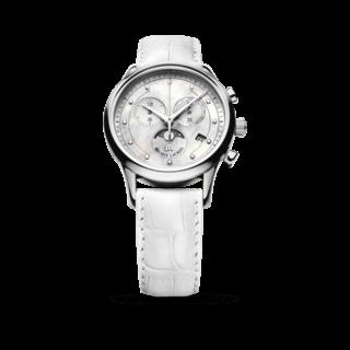 Maurice Lacroix Damenuhr Les Classiques Phases de Lune Chronographe Ladies LC1087-SS001-160-1