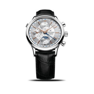 Maurice Lacroix Herrenuhr Les Classiques Phases de Lune Chronographe LC6078-SS001-131-1