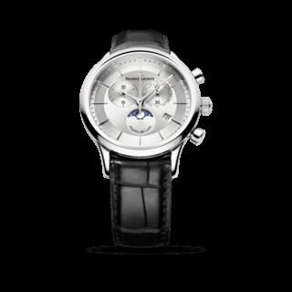 Maurice Lacroix Herrenuhr Les Classiques Phases de Lune Chronographe Quartz LC1148-SS001-131-1