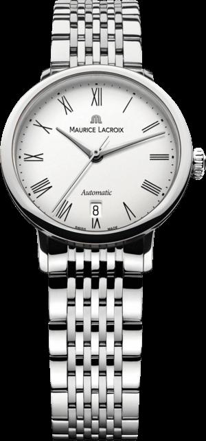 Damenuhr Maurice Lacroix Les Classiques Tradition Ladies mit weißem Zifferblatt und Edelstahlarmband