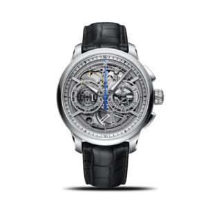 Maurice Lacroix Herrenuhr Masterpiece Chronograph Skeleton MP6028-SS001-001-1