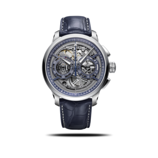 Maurice Lacroix Herrenuhr Masterpiece Chronograph Skeleton MP6028-SS001-002-1