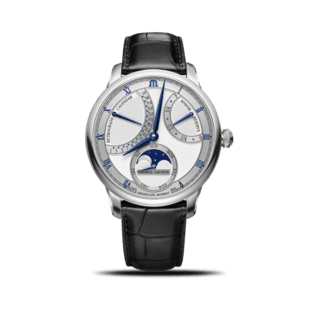 Maurice Lacroix Herrenuhr Masterpiece Moon Retrograde MP6588-SS001-131-1