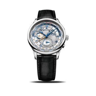 Maurice Lacroix Herrenuhr Masterpiece Worldtimer MP6008-SS001-111-1