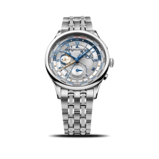 Maurice Lacroix Herrenuhr Masterpiece Worldtimer MP6008-SS002-111-1