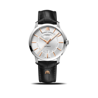 Maurice Lacroix Herrenuhr Pontos Day Date 41mm PT6358-SS001-23E-2