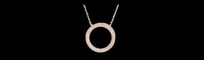 Halskette Michael Kors Brilliance aus Edelstahl ionenbeschichtet mit Glasstein