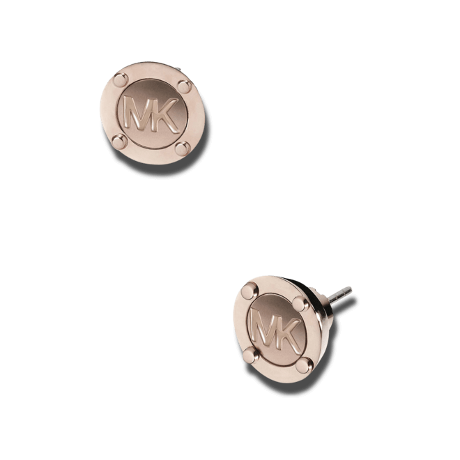 Ohrstecker Michael Kors Heritage aus ionenbeschichteter Edelstahl