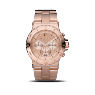 Michael Kors Damenuhr Chronograph Quarz 41mm MK5314