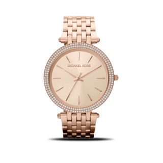 Michael Kors Damenuhr Darci Glitz Quarz 39mm MK3192