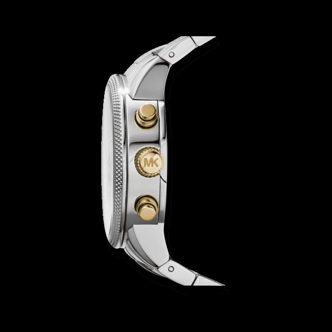 Damenuhr Michael Kors Quarz 38mm mit perlmuttfarbenem Zifferblatt und Edelstahlarmband