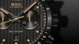 Mido Multifort Chronograph Aluminium Bezel