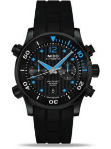 Mido Multifort Two Crowns Chronograph