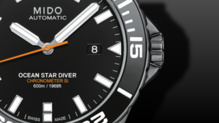 Mido Ocean Star COSC 60 bar