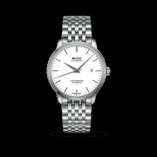 Mido Herrenuhr Baroncelli III Chronometer 80 Gent M027.408.11.011.00
