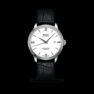 Mido Herrenuhr Baroncelli III Chronometer 80 Gent M027.408.16.018.00
